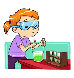 Science Learning vector image vector image