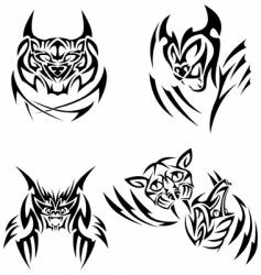 tattoos vector image vector image