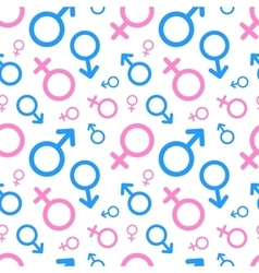 Men and women pictograms Mars Venus icons vector image