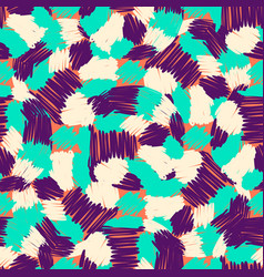 abstract doodle and boho style handcraft fabric vector image