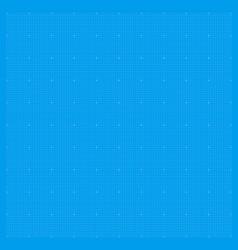 blueprint background grid blue paper graph metric vector image