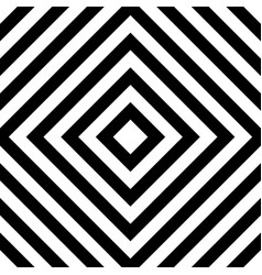 Centric squares black and white abstract vector