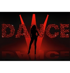 Dance Wallpaper vector image