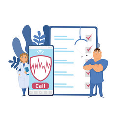 healthcare concept health insurance vector image