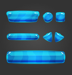 Set of button for game design - 2 vector