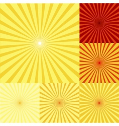 Sunshine background vector