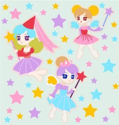 Cute Fairy Princess vector image