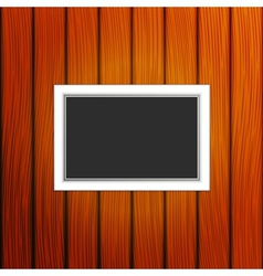 Frame on a wall vector image vector image