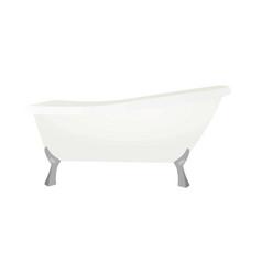 Bath tube vector