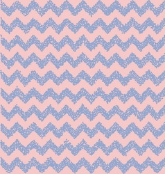 Rose quartz and serenity Chevron backdrop vector