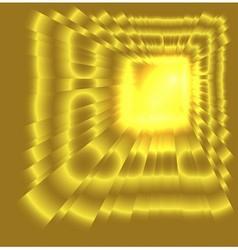 See burst light on golden background vector
