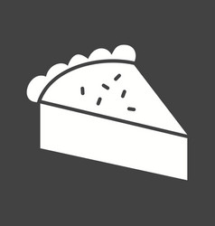 Slice of pie vector