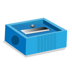 isolated of pencil sharpener - vector image