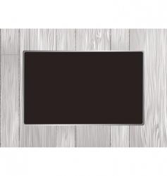 wood frame vector image