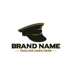 army cap logo vector image