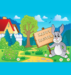 Easter bunny topic image 5 vector