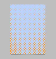 Halftone pine tree pattern brochure template vector