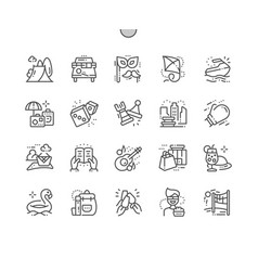 Leisure well-crafted pixel perfect thin vector