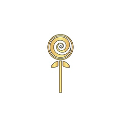 Lollipop computer symbol vector