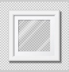 photo frame mockup vector image