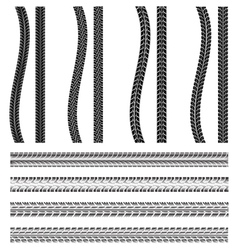 various automobile tyre vector image vector image
