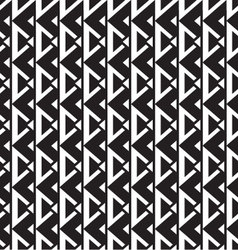 geometric seamless pattern monochrome vector image