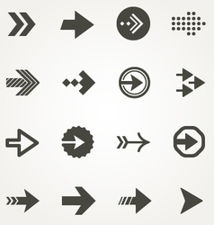 Arrow signs vector