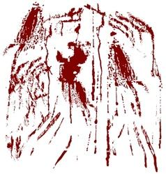 Blood spots vector
