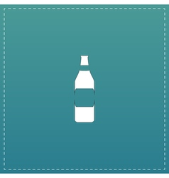 Bottle of beer - vector