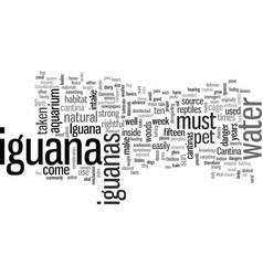 Iguana cantina vector
