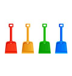 Set shovel vector