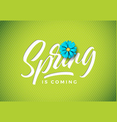 Spring is coming vector