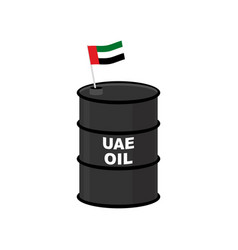 Uae barrel oil united arab emirates petroleum vector