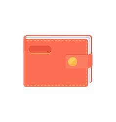 Wallet purse vector image