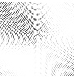 halftone pattern Dotted background design Halftone vector image
