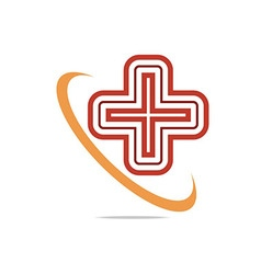 Red Medical vector image vector image