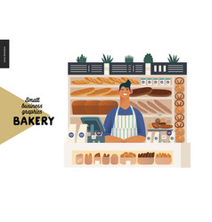 Bakery - small business graphics - vendor vector