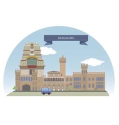 Bangalore vector image