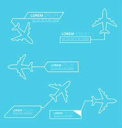digital callouts titles vector image