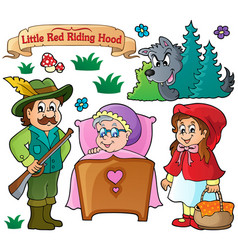 Fairy tale theme collection 1 vector
