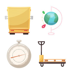 Goods and cargo icon vector