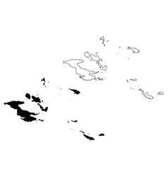 Milne bay province independent state papua new vector
