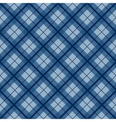 Navy Blue Tartan Diamond Background vector