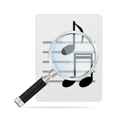 Seas music vector