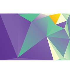 Triangle background vector image