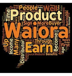 Why Become A Waiora Distributor text background vector