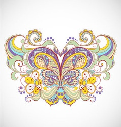 abstract butterfly vector image vector image