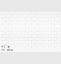 brick wall seamless geometric texture white vector image