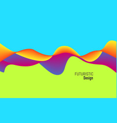 modern background with dynamic effect bright vector image vector image