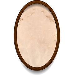 Frame with aged paper vector image
